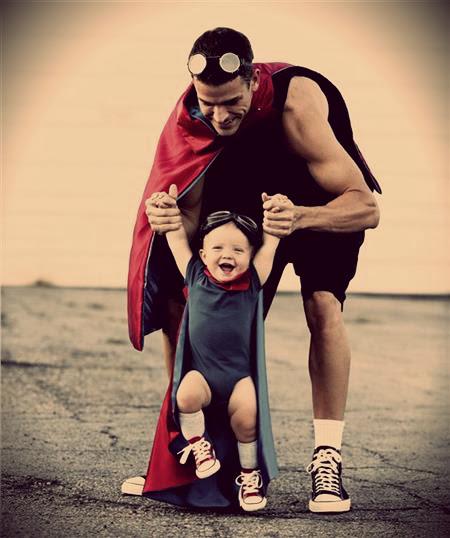 10 λόγοι που αγαπώ πιο πολύ τον μπαμπά από τη μαμά!