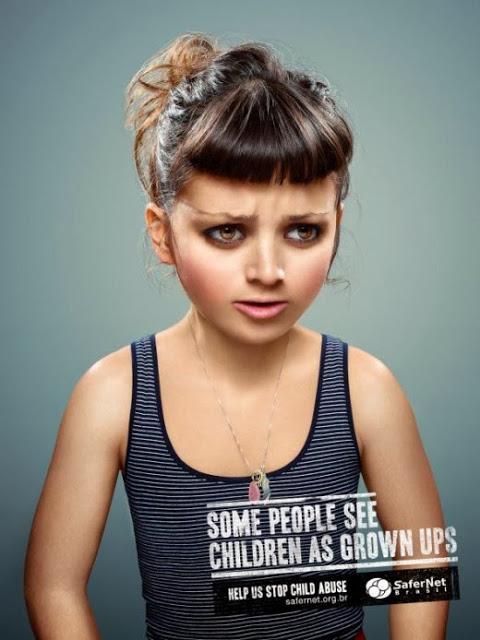 Κάποιοι βλέπουν τα παιδιά σαν ενήλικες...Βοηθήστε μας να σταματήσουμε τη παιδική κακοποίηση.
