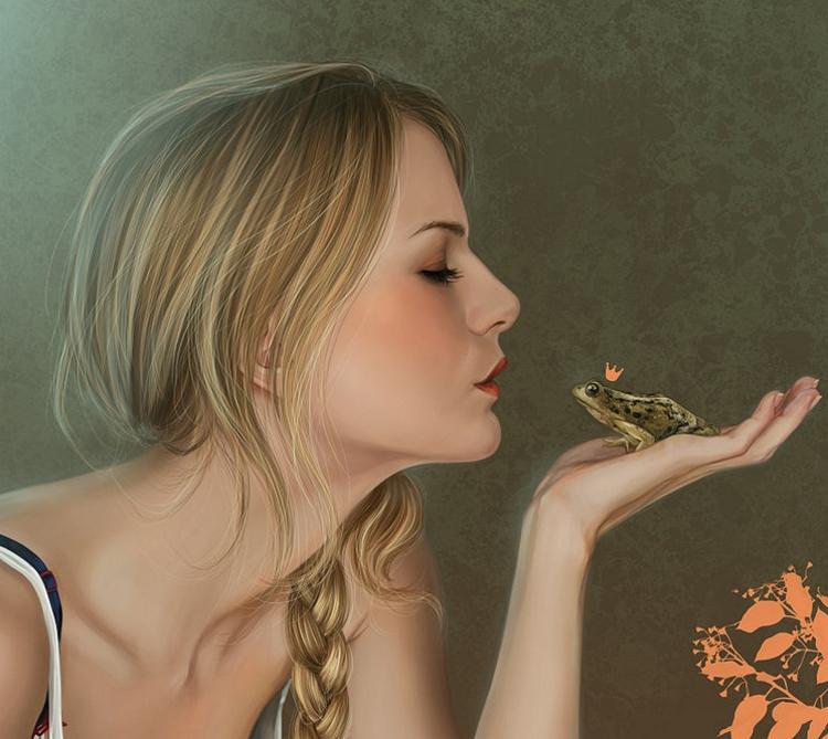 Να 'σαι πρίγκιπας και να  προσποιείσαι το βάτραχο, γιατί;