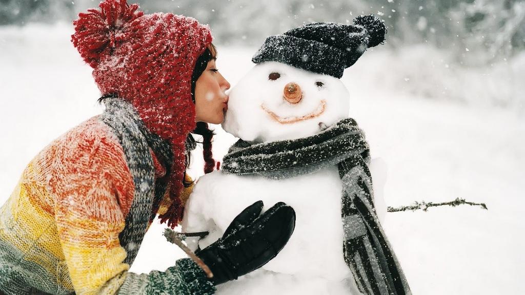 Πως φτιάχνουμε χιονάνθρωπο - Μάθημα για αρχάριους!!