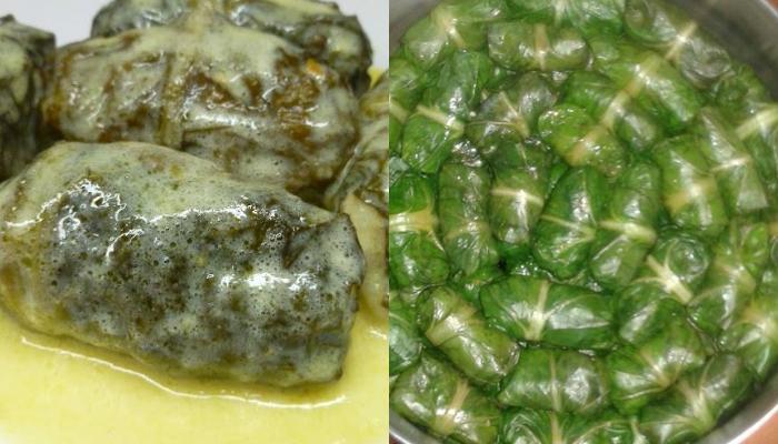 Συνταγή για ντολμαδάκια από μαρούλι