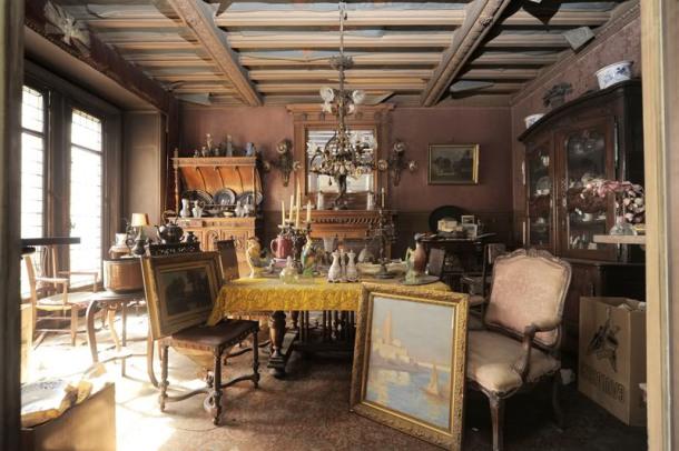 Διαμέρισμα απο το 1942 ανακαλύφθηκε στο Παρίσι!