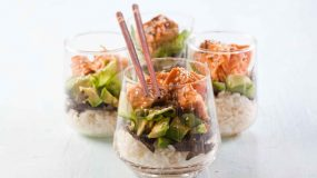 Δοκιμάστε τη sushi salad!