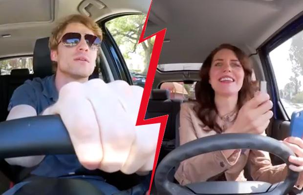 Άνδρας οδηγός VS γυναίκα οδηγο!Ξεκαρδιστικο video!
