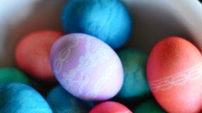 Πασχαλινά δαντελένια αβγά….