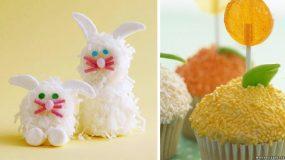 Cupcakes κοτοπουλάκια!