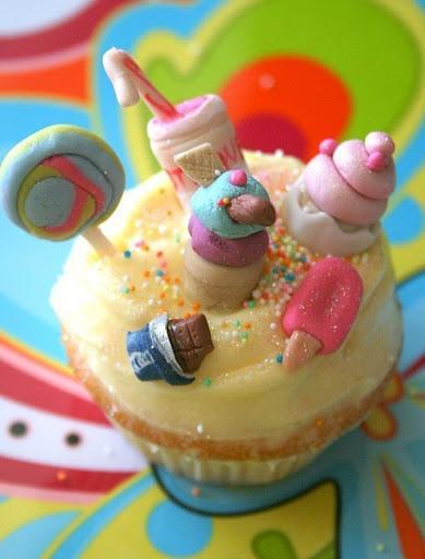 cupcakes για παιδικό πάρτυ !