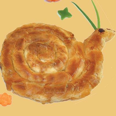 Πίτα Λαχανικών Σαλιγκάρι