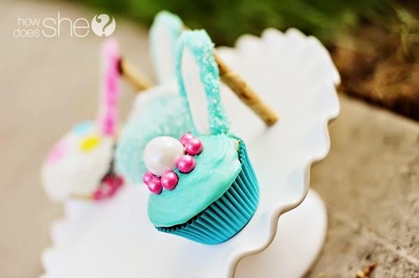 Πως να μετατρέψουμε τα cup-cakes μας σε πριγκηπικές γόβες!