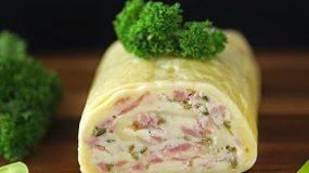 Συνταγή Ρολό τυλιχτό με τυρί! Η πιο πρωτότυπη ιδέα που έχετε δει για μπουφέ!