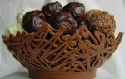 Φτιάξτε μόνοι σας μπολ σοκολάτας !
