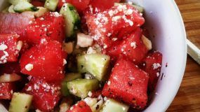 Η απόλυτη καλοκαιρινή σαλάτα με καρπούζι και φέτα!