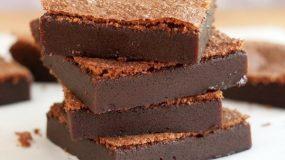 Θεϊκά  Nutella Brownies με δυο υλικά!