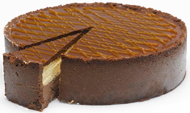 Λαχταριστο Cheesecake με τρεις σοκολάτες