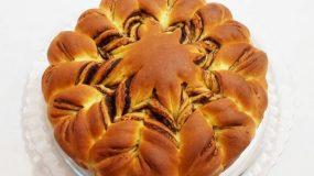Αφράτο ψωμάκι πλημμυρισμένο με nutella!Μερεντοψωμο αλλιως!!!!!!!!!!!!!!