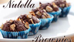 Πανεύκολα και λαχταριστά brownies Nutella (3 υλικά)