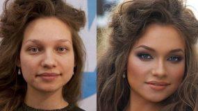 Η δύναμη του μακιγιάζ!Μεταμορφώσεις που βγάζουν μάτι