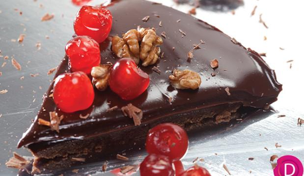Πανεύκολη σοκολατενια Τάρτα σοκολάτας χωρίς ψήσιμο