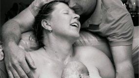 Το θαύμα της γέννησης σε φωτογραφίες και video!
