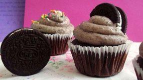 Tέλεια cookie cupcakes.Αφράτα και νόστιμα.