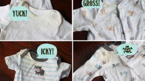 Πώς να βγάλουμε τους 4 πιο δύσκολους λεκέδες από τα ρούχα του μωρού;