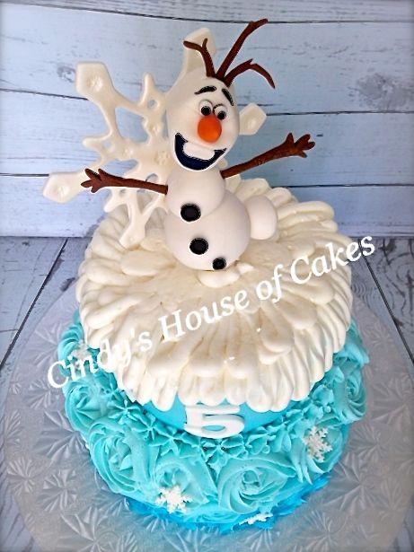 Disney Frozen Birthday Cake | Disney's Frozen — Disney Themed Cakes