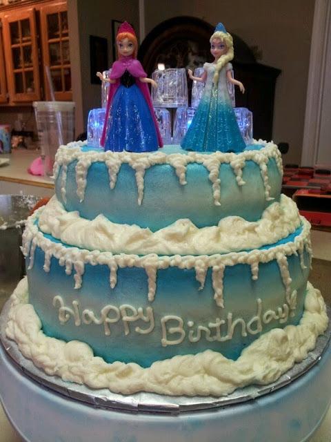 Το πιο υπέροχο θεματικό πάρτι frozen για χειμωνιάτικα γενέθλια!