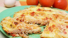 Μακαρονο-πίτσα!!!!