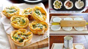 Πιτάκια με βάση από ψωμί του τοστ - Το πιο γρήγορο και χορταστικό σνακ!