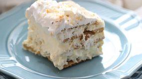 Πανεύκολο γλυκό ψυγείου με μπισκότα !