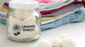 Φτιάξτε μόνες σας ταμπλέτες για το πλυντήριο ρούχων