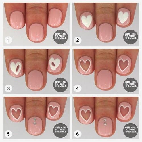 Βήμα βήμα πως θα κάνεις μόνη σου 3  τέλεια negative space nails σχέδια μόνη σου πανεύκολα!