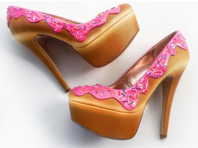 Παπούτσια εμπνευσμένα από… γλυκά