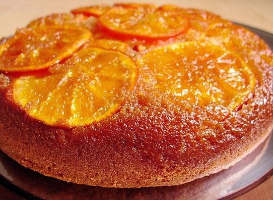 Αποτέλεσμα εικόνας για πορτοκαλοπιτα χωρισ φυλλο με σιροπι