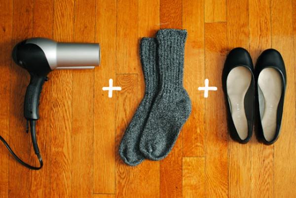 Πώς θα ανοίξουν τα στενά σας παπούτσια