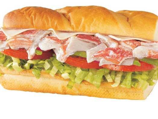 Subway's crab meat