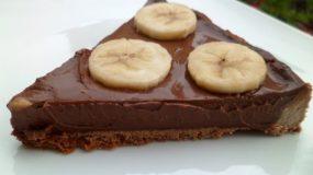 Τάρτα με νουτέλα και μπανάνες σε 3 κινήσεις