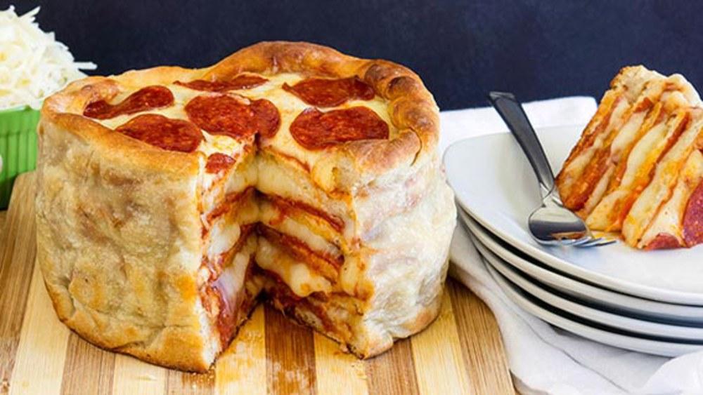 Βρηκαμε τη συνταγη για κεικ πιτσα!Θα γινει της τρελης