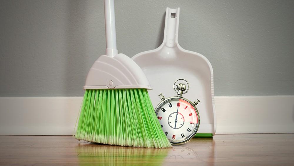 Πώς να καθαρίσετε το σπίτι σας σε 15 λεπτά;
