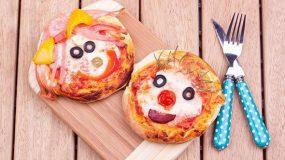 Μινι πίτσα για παιδια!!!
