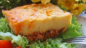 Συνταγή για πουρέ πατάτας με κιμά στον φούρνο