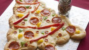 Χριστουγεννιατικη Pizza!