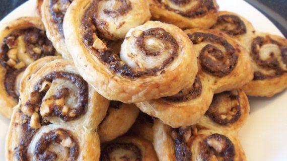 Μπισκότα  με Nutella με 2 υλικά σε Δεκα λεπτα!