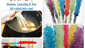 Φτιάξτε βραχακια ζαχαρης για το παιδικό σας πάρτυ