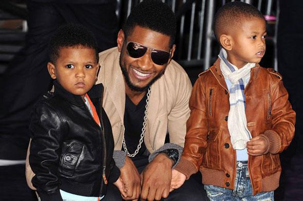 Usher μπαμπάς