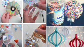 30 απίθανες ιδέες για να κατασκευάσετε  μονοι σας φετος τα Χριστουγεννιάτικα στολίδια
