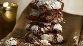 Σοκολατένια μπισκότα τρουφες!!!!