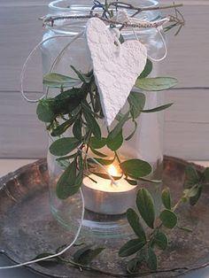 Candle Mistletoe Decoration