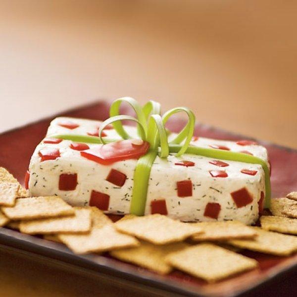 Αλμυρη Χριστουγεννιατικη τουρτιτσα