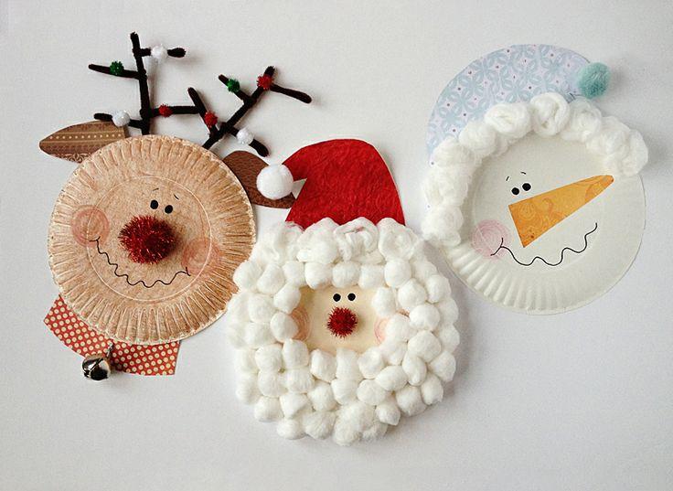 Ευκολες Χριστουγεννιατικες κατασκευες για παιδια!